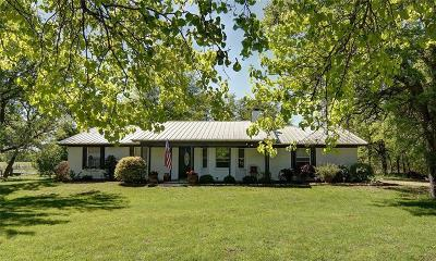 Weatherford Single Family Home For Sale: 4041 Upper Denton Road