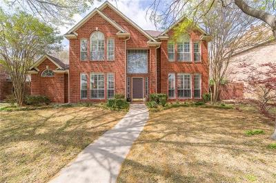 Plano TX Single Family Home Active Option Contract: $345,000