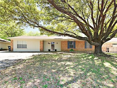 Corsicana Single Family Home Active Option Contract: 517 Wesley Drive