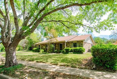 Garland Single Family Home Active Option Contract: 3618 Arbor Trail