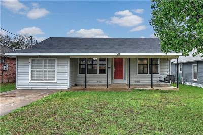 Whitesboro Single Family Home Active Contingent: 503 North Avenue