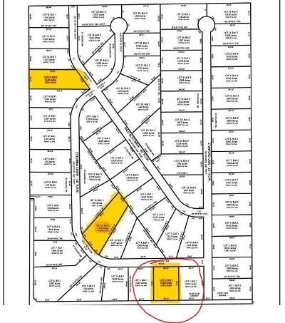 Springtown Residential Lots & Land For Sale: Agnes Cir/Columbia Court