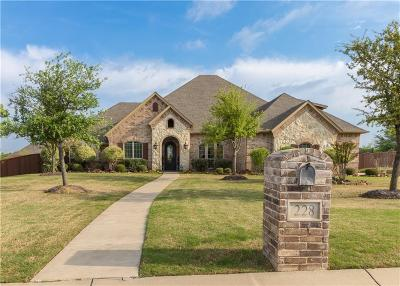 Haslet Single Family Home Active Contingent: 228 Ashmore Place