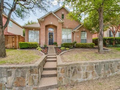 Frisco Single Family Home Active Option Contract: 1653 Carson Lane