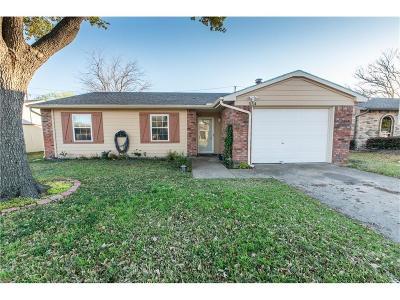 Allen Single Family Home Active Contingent: 554 Ridgemont Drive
