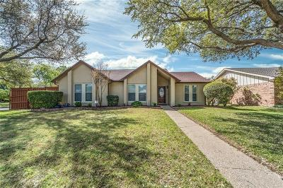 Plano Single Family Home Active Option Contract: 2000 Hawken Drive