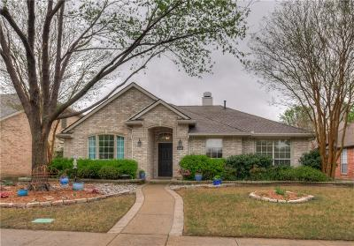 Frisco Single Family Home Active Option Contract: 12201 Chattanooga Drive