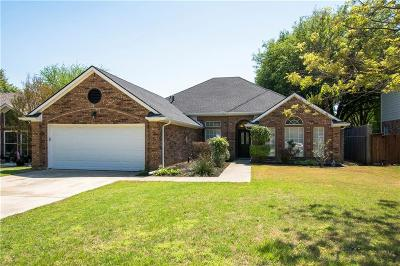 Flower Mound Single Family Home Active Option Contract: 1409 Mimosa Court