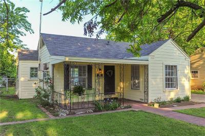 Arlington TX Single Family Home For Sale: $95,000