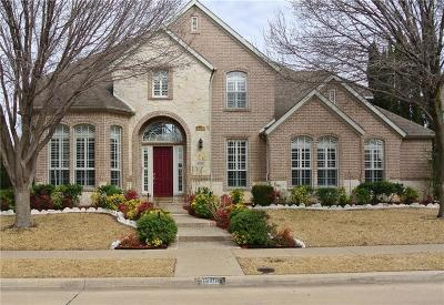 Plano Single Family Home Active Option Contract: 8716 Mandevilla Drive