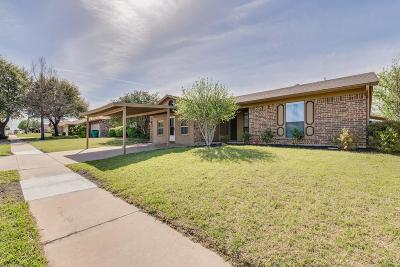Watauga Single Family Home Active Option Contract: 6632 Valley View Drive
