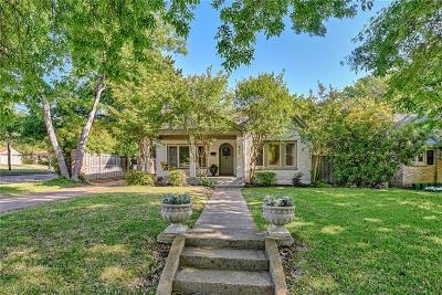 Dallas Single Family Home For Sale: 837 Stewart Drive