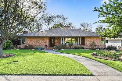 Dallas Single Family Home For Sale: 7116 Cornelia Lane