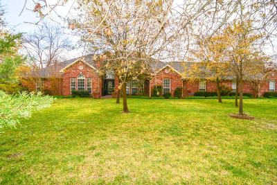 Stephenville Single Family Home Active Option Contract: 120 Greenbriar