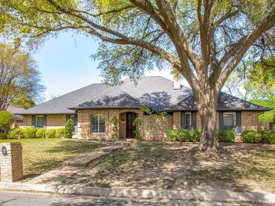 Mira Vista, Mira Vista Add, Trinity Heights, Meadows West, Meadows West Add, Bellaire Park, Bellaire Park North Single Family Home Active Contingent: 6704 River Bend Road