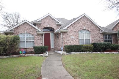 Carrollton Single Family Home Active Option Contract: 1512 Bosque Drive