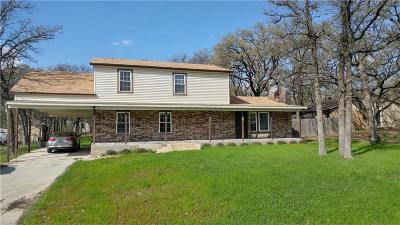 Azle Single Family Home Active Contingent: 1628 Tanglewood Drive