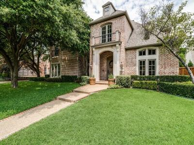 Plano Single Family Home For Sale: 5909 Fairchild Court