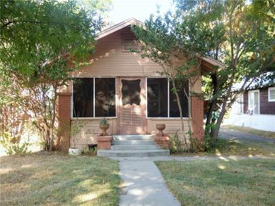 Eastland Single Family Home For Sale: 1307 S Seaman Street