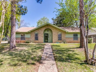 Lewisville Single Family Home Active Contingent: 642 Marcus Drive