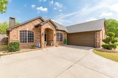 Keller Single Family Home For Sale: 1307 Clear Springs Drive