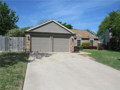 Flower Mound Single Family Home Active Option Contract: 5428 Gregory Drive