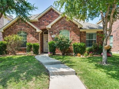 Allen Single Family Home Active Option Contract: 1625 Broadmoor Drive