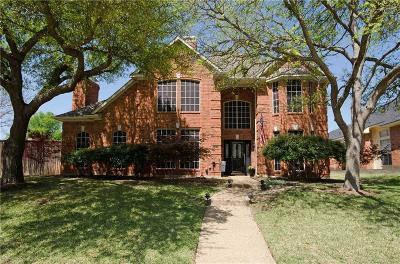 Richardson Single Family Home Active Option Contract: 2677 Carnation Drive