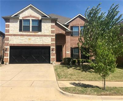 Denton Single Family Home Active Option Contract: 3217 Evening Wind Road