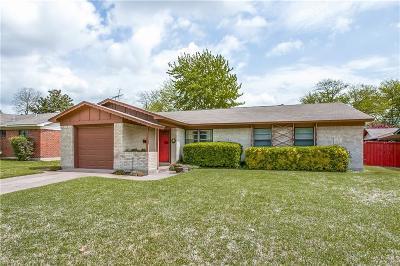 Richardson Single Family Home Active Option Contract: 308 N Cottonwood