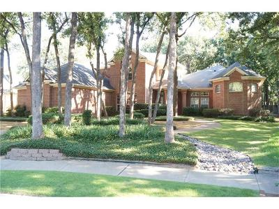 Denton Single Family Home Active Option Contract: 207 Royal Oaks Place