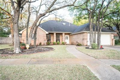 Keller Single Family Home Active Option Contract: 326 Creekside Drive