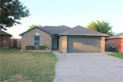 Fort Worth TX Single Family Home Active Option Contract: $169,000