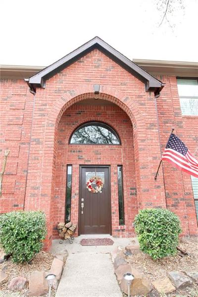 Allen Single Family Home Active Contingent: 708 Pulitzer Lane