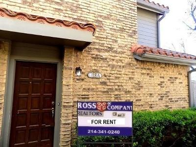 Farmers Branch  Residential Lease For Lease: 14800 Enterprise Drive #18
