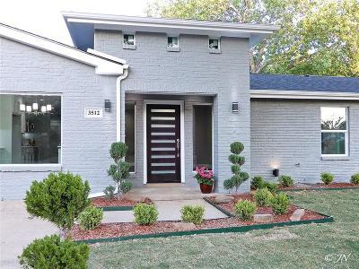 Irving Single Family Home For Sale: 3512 Colgate Lane