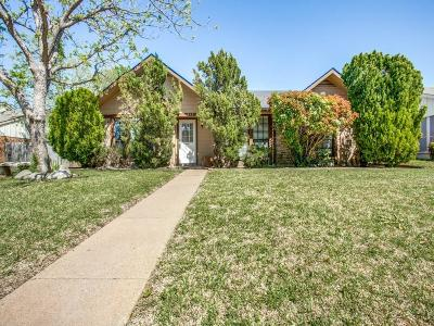 Plano Single Family Home Active Option Contract: 1452 Saint Patrick Drive