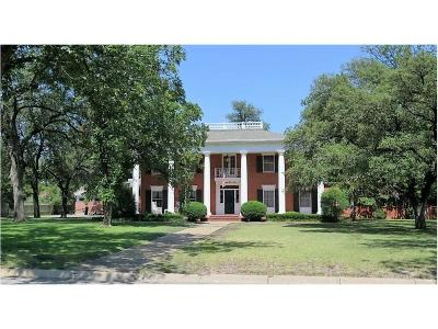 Brownwood Single Family Home Active Option Contract: 2110 Belmeade Street