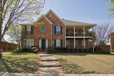 Plano Single Family Home Active Option Contract: 3612 Spring Mountain Drive