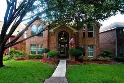 Allen Single Family Home Active Contingent: 733 Ridgemont Drive