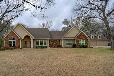 Azle Single Family Home Active Option Contract: 255 Chaparrals Run
