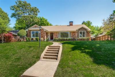 Dallas Single Family Home For Sale: 10558 Silverock Drive
