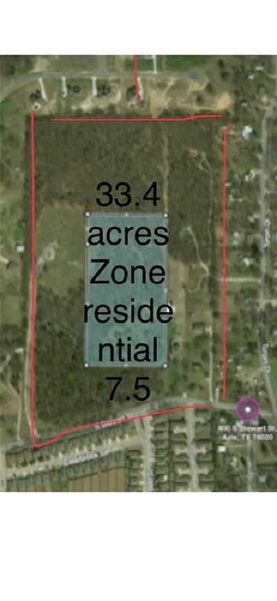 Azle Residential Lots & Land For Sale: 600 Bl S Stewart