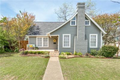 McKinney Single Family Home For Sale: 907 N College Street