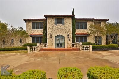 Abilene Single Family Home For Sale: 865 Sayles Boulevard