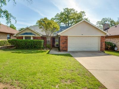 Irving Single Family Home Active Option Contract: 924 Old Mill Circle