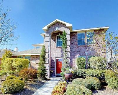 Allen Single Family Home Active Contingent: 1311 Rusk Drive