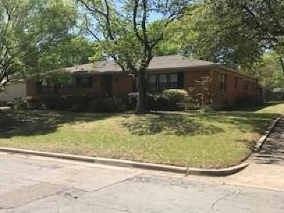 Waco Single Family Home Active Option Contract: 2224 Charboneau Drive