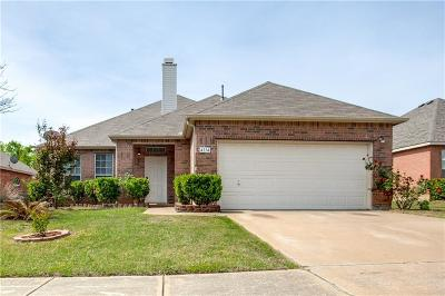Garland Single Family Home Active Contingent: 4114 Carrington Drive