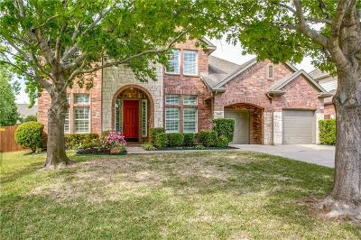 Grapevine Single Family Home Active Option Contract: 3409 Balboa Court